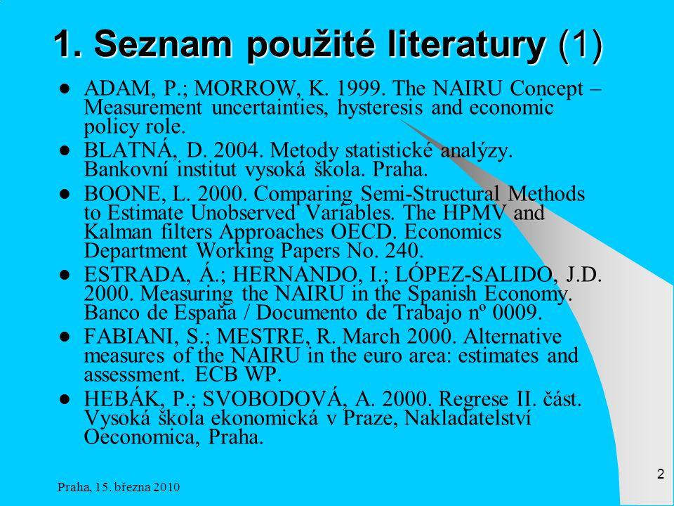 1. Seznam použité literatury (1)