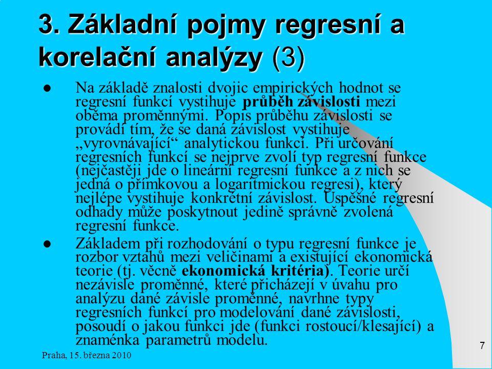 3. Základní pojmy regresní a korelační analýzy (3)