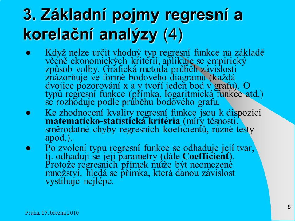 3. Základní pojmy regresní a korelační analýzy (4)