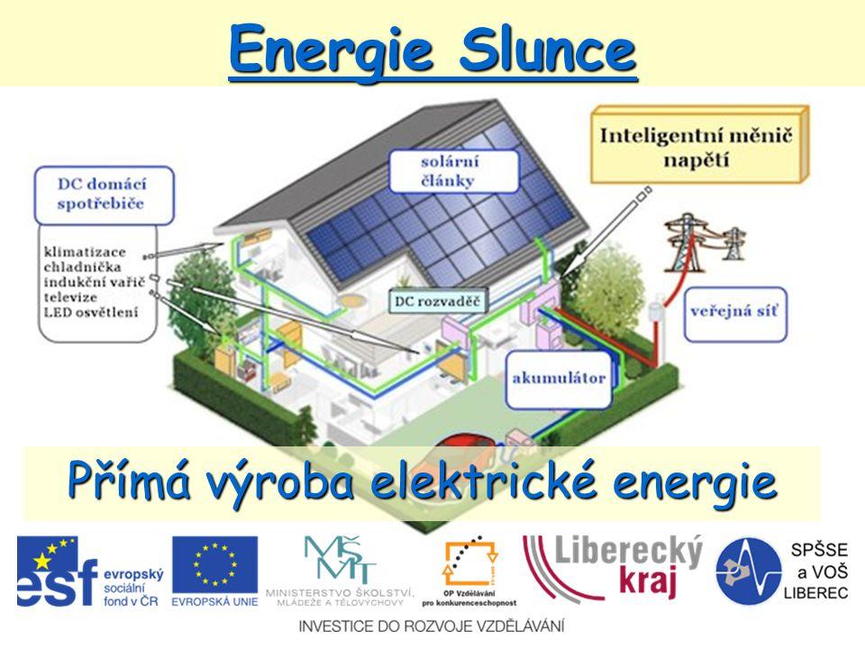 Přímá výroba elektrické energie