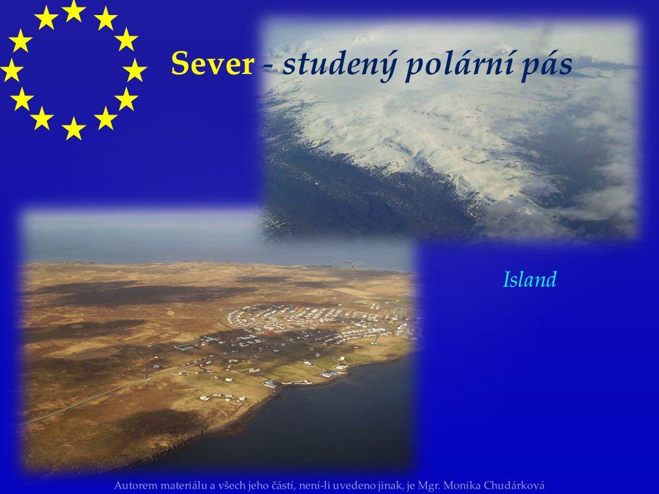 Sever - studený polární pás