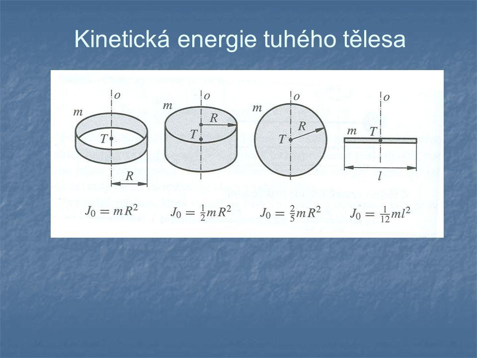 Kinetická energie tuhého tělesa