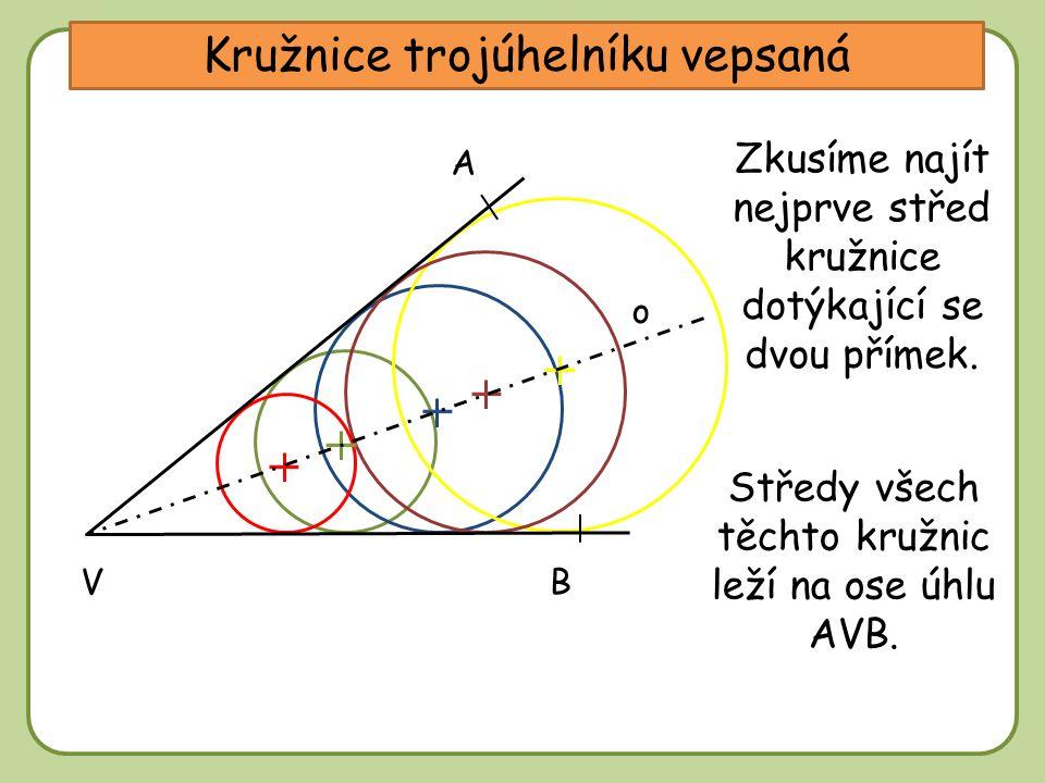 Kružnice trojúhelníku vepsaná