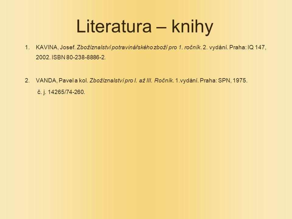 Literatura – knihy