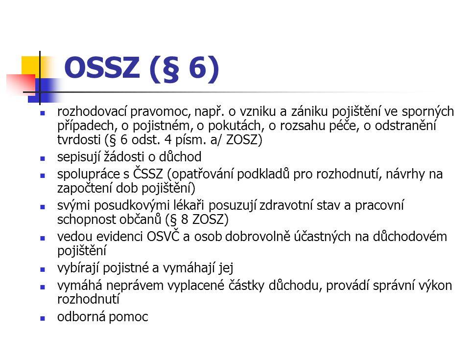 OSSZ (§ 6)