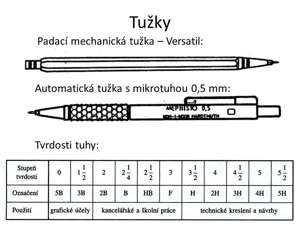 Tužky Padací mechanická tužka – Versatil:
