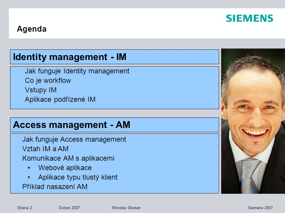 Identity management - IM