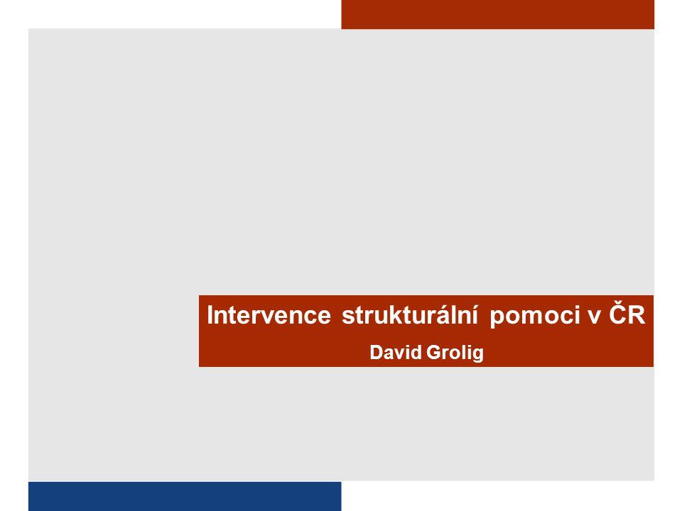 Intervence strukturální pomoci v ČR