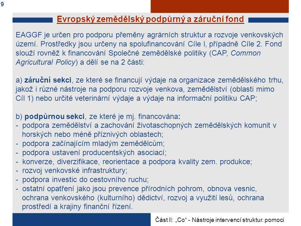 Evropský zemědělský podpůrný a záruční fond