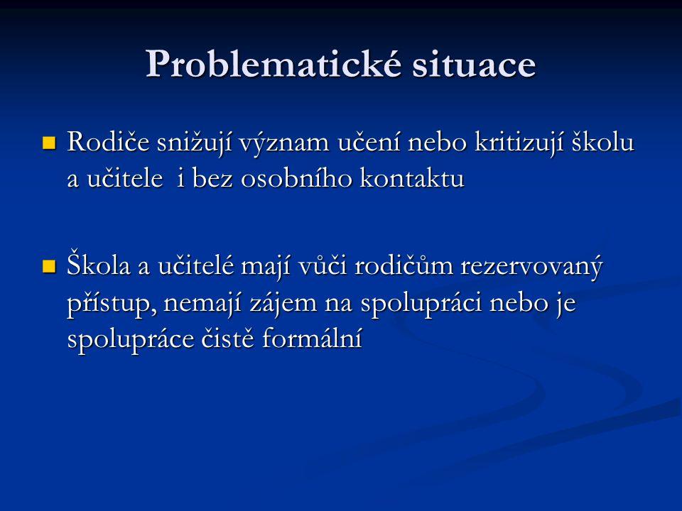 Problematické situace