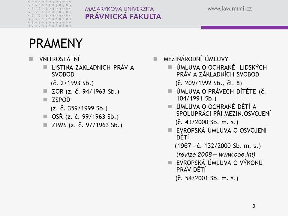 PRAMENY VNITROSTÁTNÍ LISTINA ZÁKLADNÍCH PRÁV A SVOBOD (č. 2/1993 Sb.)
