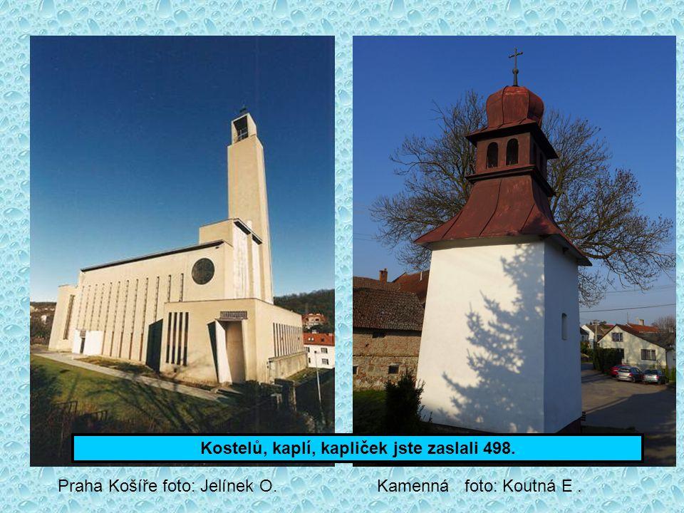 Kostelů, kaplí, kapliček jste zaslali 498.