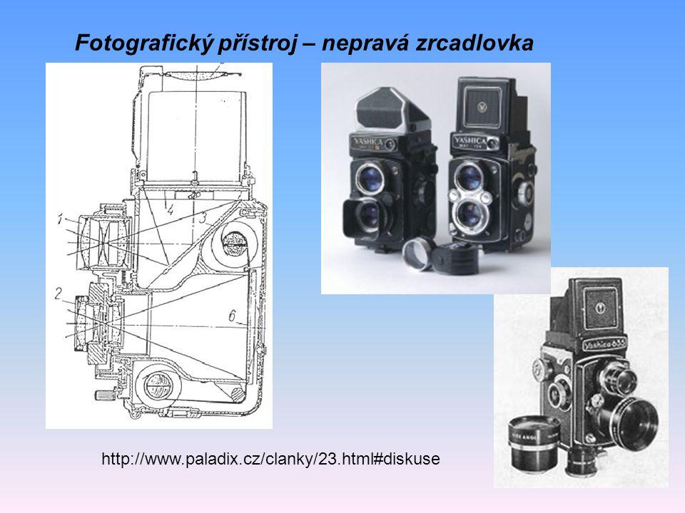 Fotografický přístroj – nepravá zrcadlovka