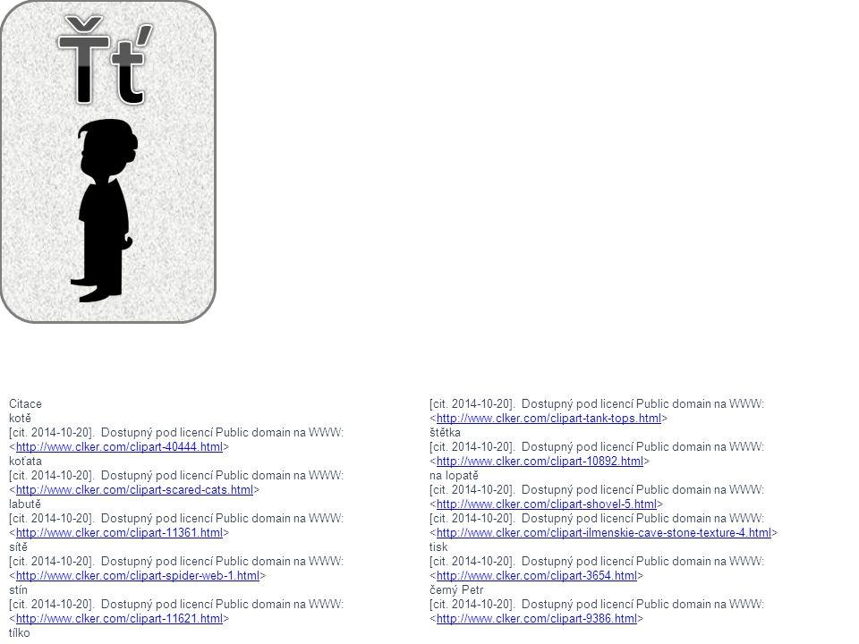 Ťť Citace kotě <http://www.clker.com/clipart-tank-tops.html>