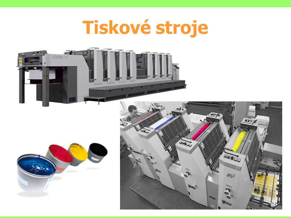Tiskové stroje Náběh 150 až 200 výtisků