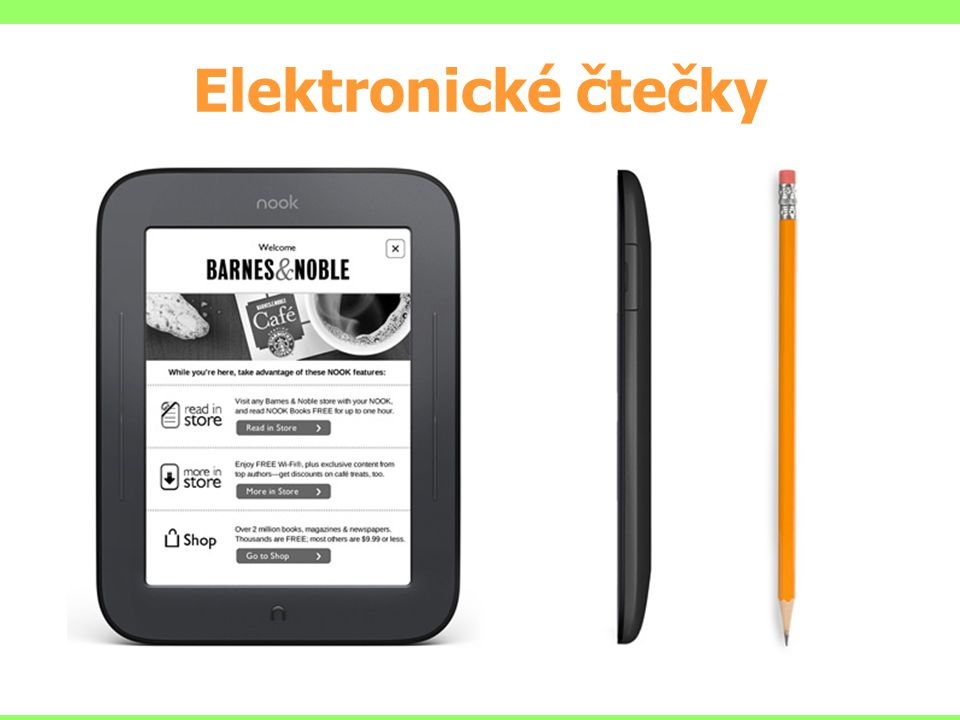 Elektronické čtečky