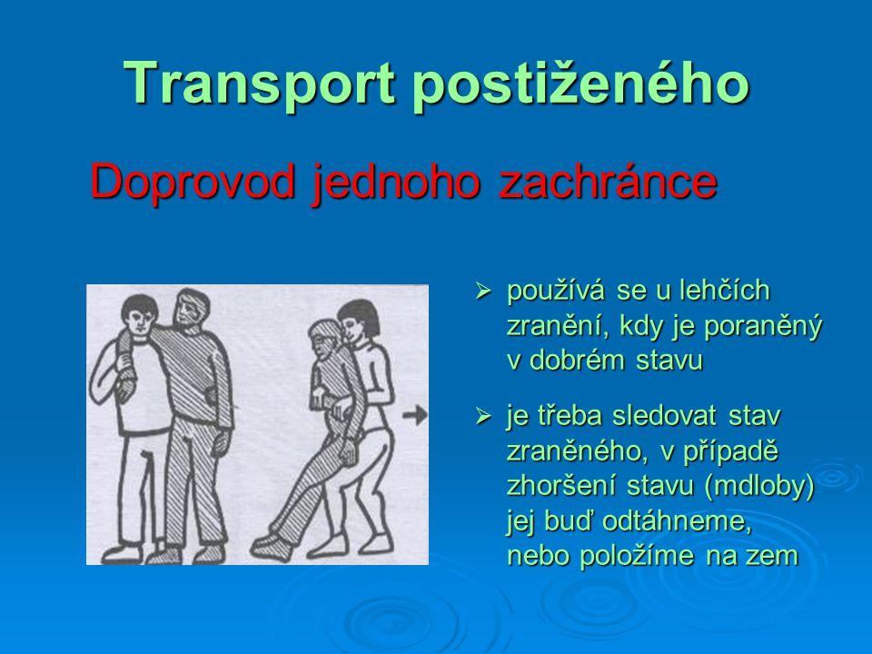 Transport postiženého