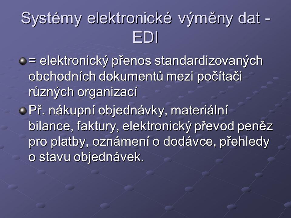 Systémy elektronické výměny dat - EDI