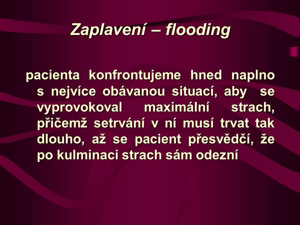 Zaplavení – flooding