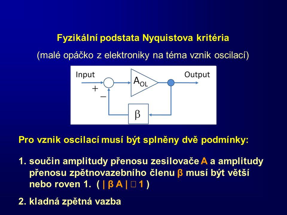 Fyzikální podstata Nyquistova kritéria