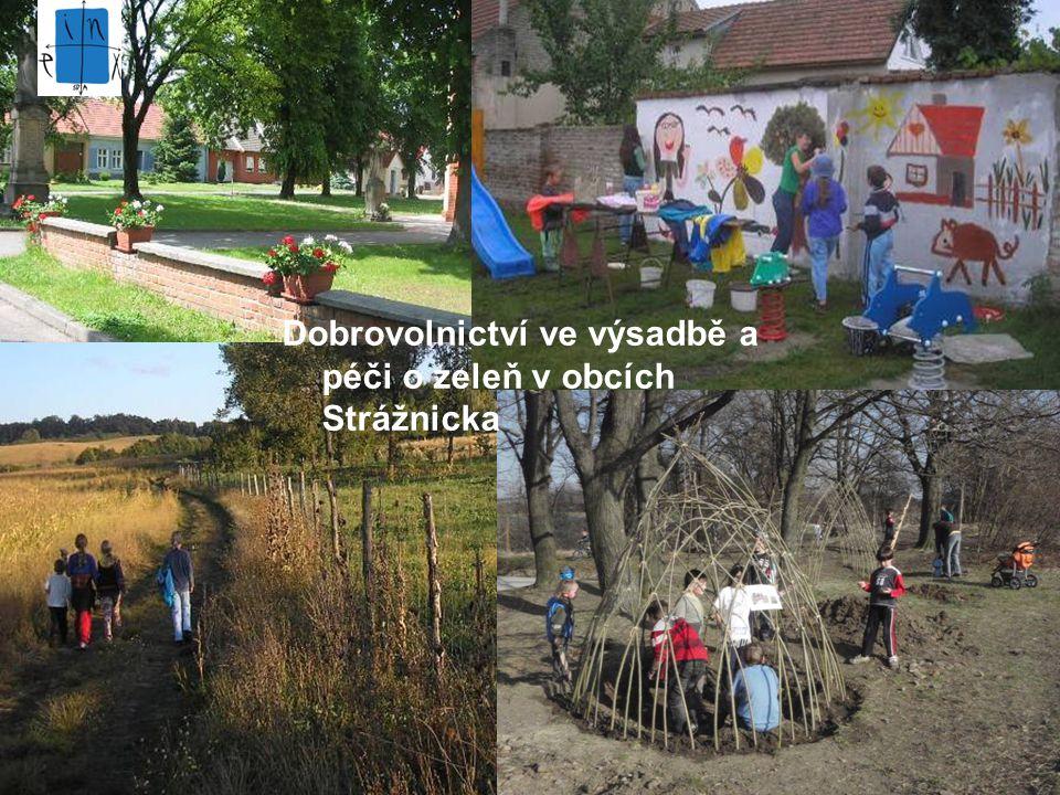 Dobrovolnictví ve výsadbě a péči o zeleň v obcích Strážnicka