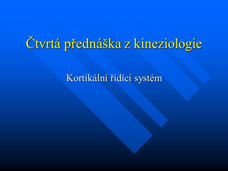 Čtvrtá přednáška z kineziologie