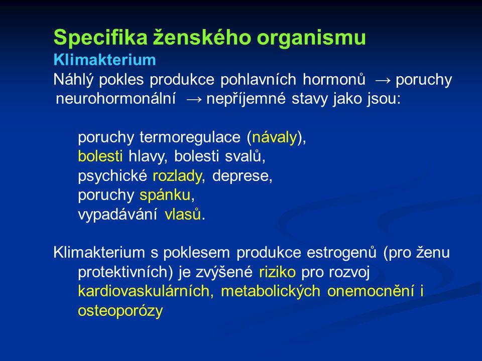 Specifika ženského organismu