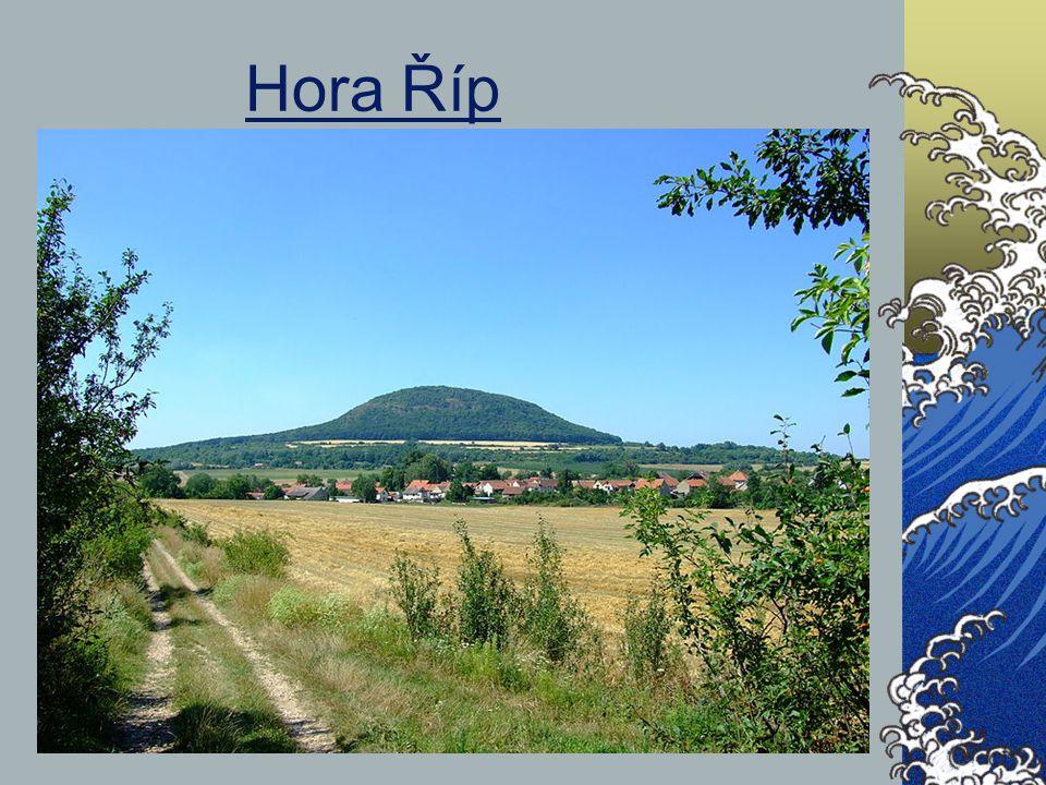 Hora Říp http://cs.wikipedia.org/wiki/Soubor:Ctin%C4%9Bves,_%C5%98%C3%ADp_a_obec.jpg