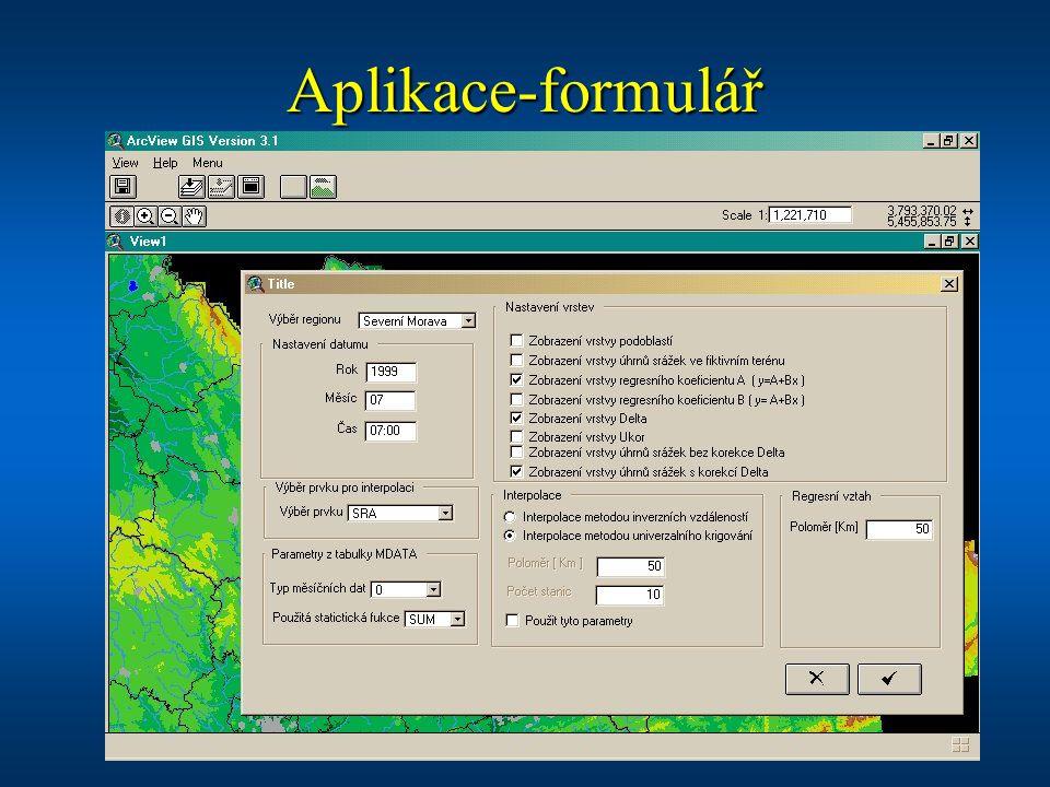 Aplikace-formulář