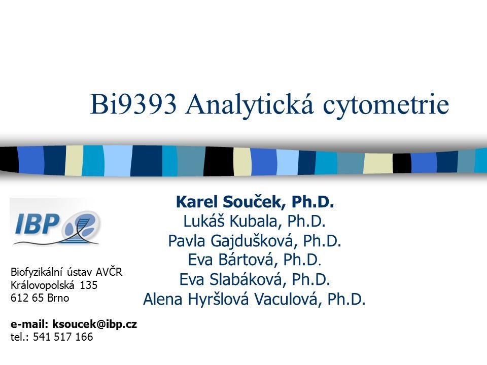 Bi9393 Analytická cytometrie