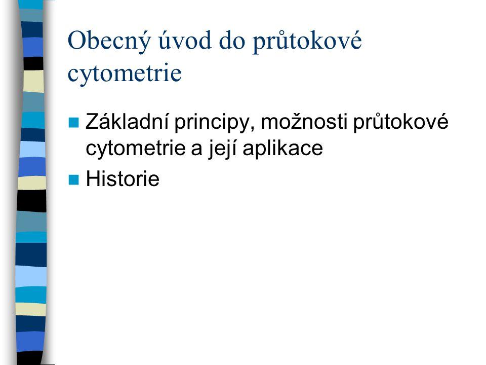 Obecný úvod do průtokové cytometrie