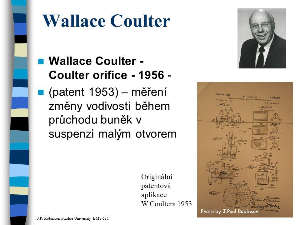 Wallace Coulter Wallace Coulter - Coulter orifice - 1956 -