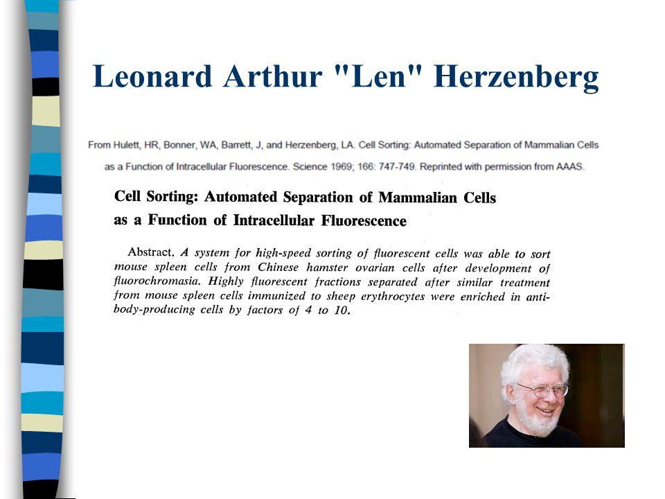 Leonard Arthur Len Herzenberg