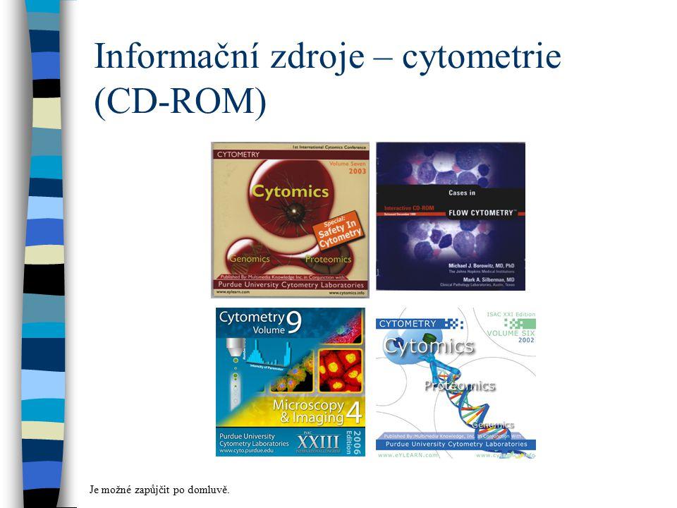 Informační zdroje – cytometrie (CD-ROM)