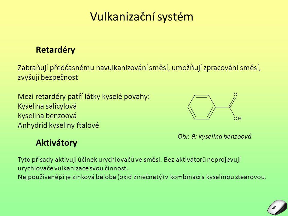 Obr. 9: kyselina benzoová