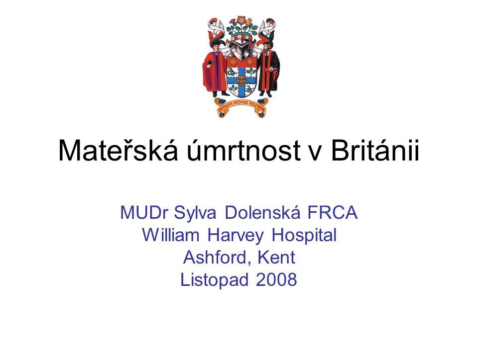 Mateřská úmrtnost v Británii