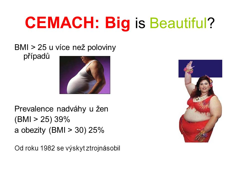 CEMACH: Big is Beautiful