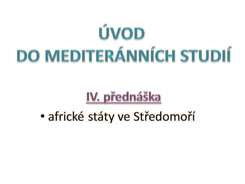 ÚVOD DO MEDITERÁNNÍCH STUDIÍ