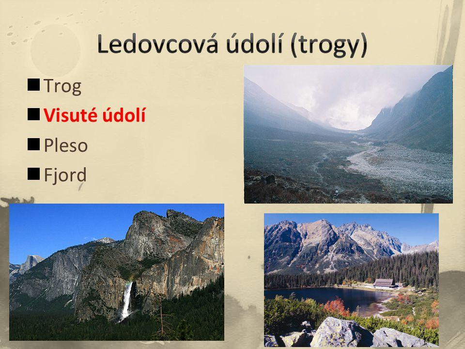 Ledovcová údolí (trogy)