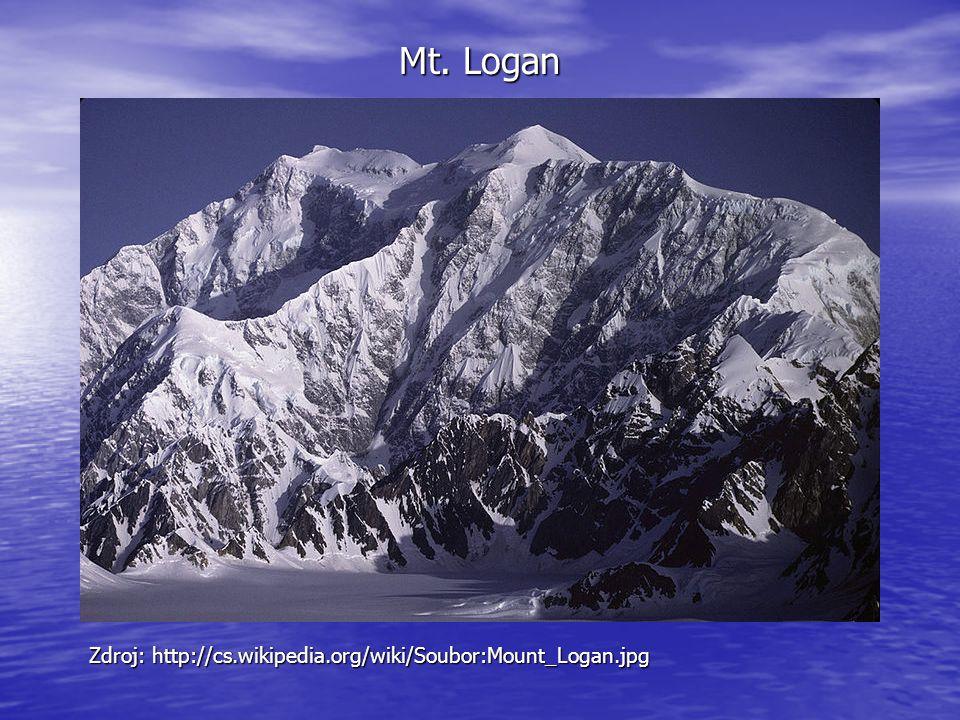 Mt. Logan Zdroj: http://cs.wikipedia.org/wiki/Soubor:Mount_Logan.jpg
