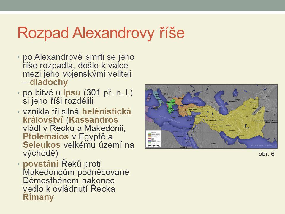 Rozpad Alexandrovy říše