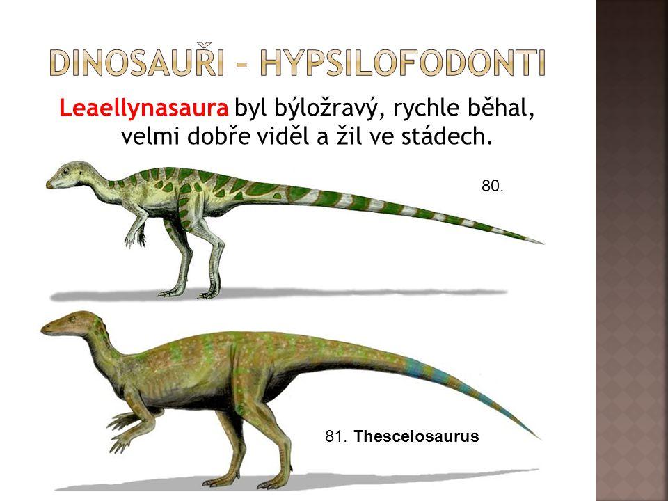 Dinosauři - hypsilofodonti