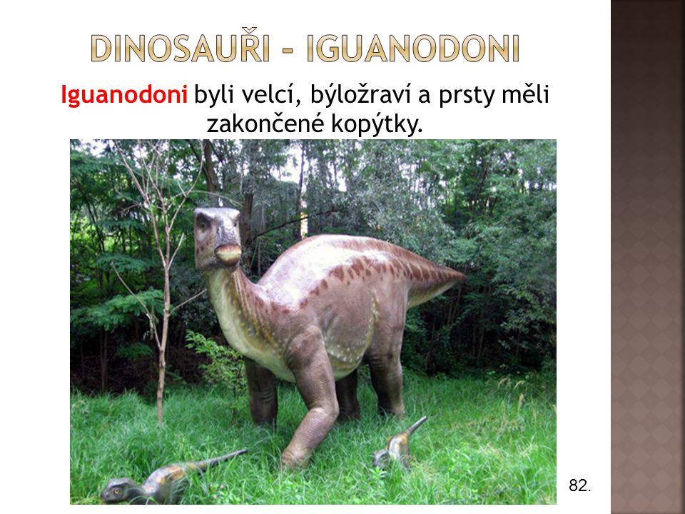 Dinosauři - iguanodoni