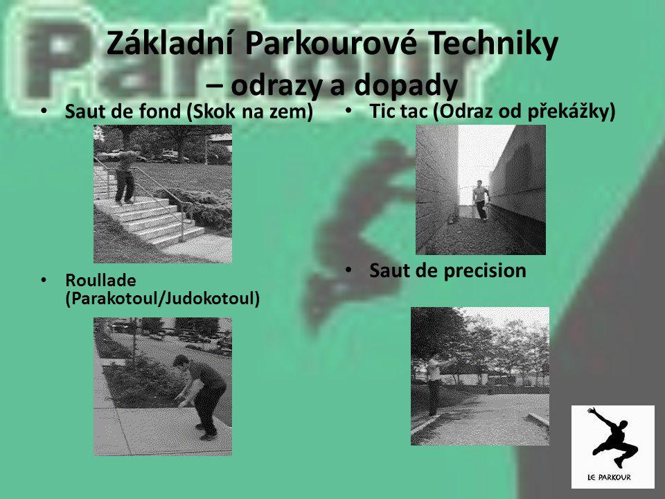 Základní Parkourové Techniky – odrazy a dopady