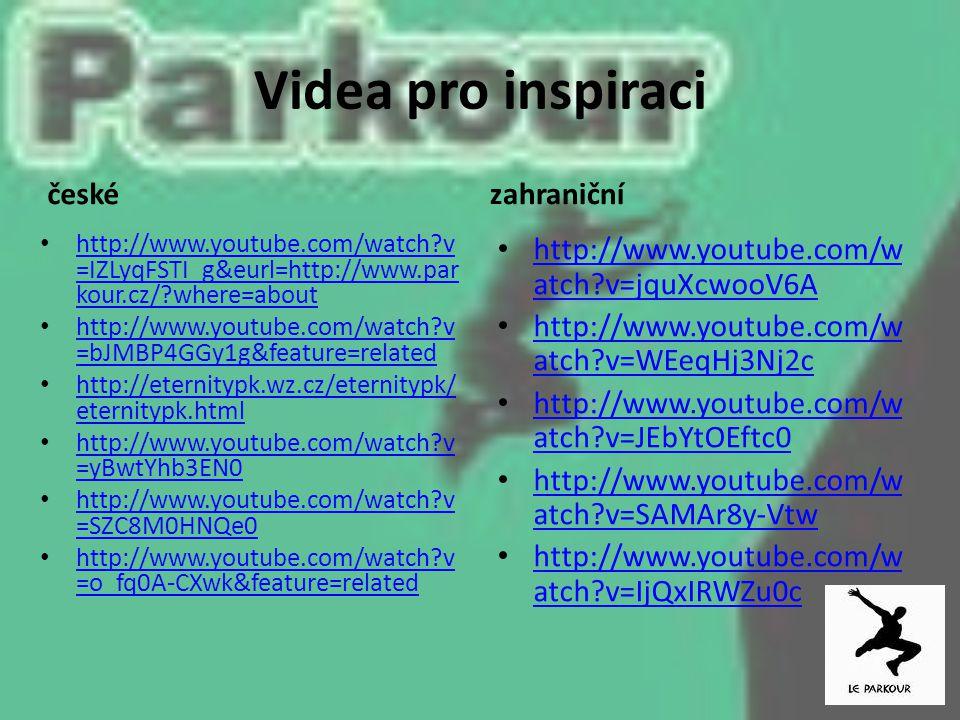 Videa pro inspiraci české zahraniční