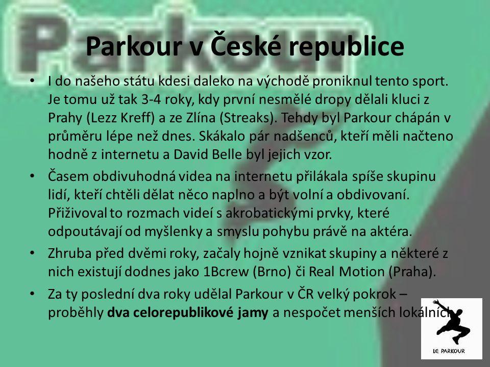 Parkour v České republice