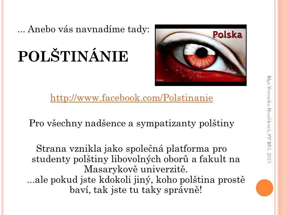 Pro všechny nadšence a sympatizanty polštiny