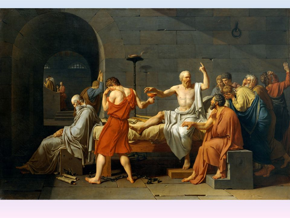 Jacques-Louis David (1787) - The Death of Socrates