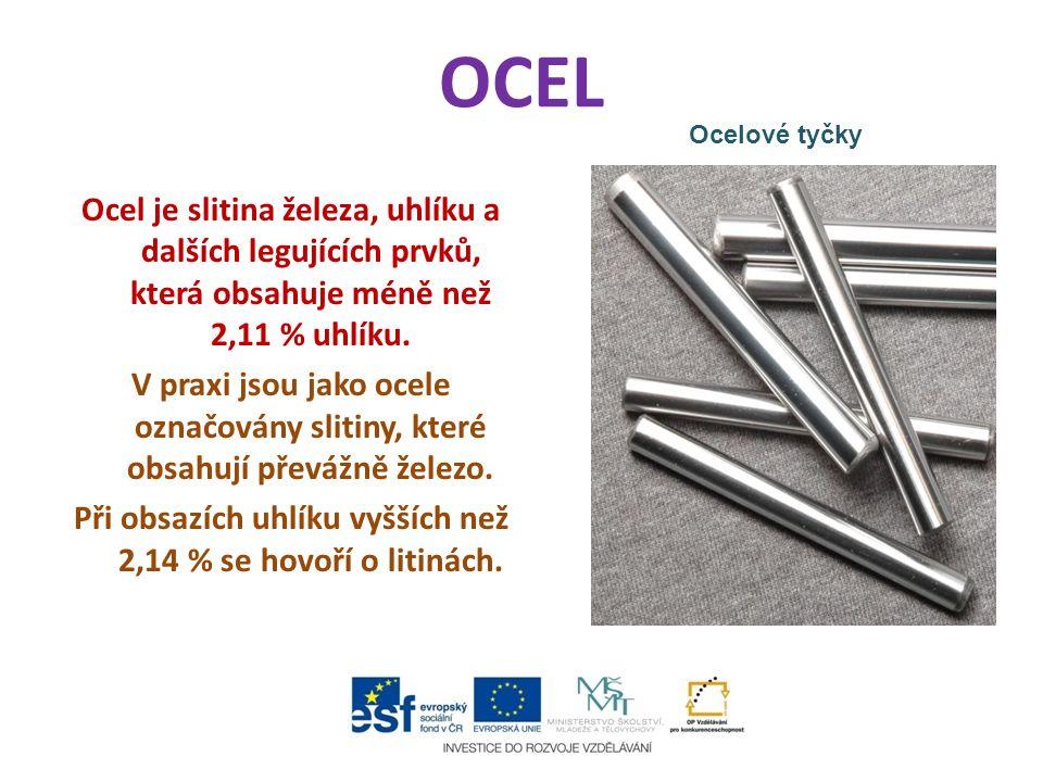 OCEL Ocelové tyčky.