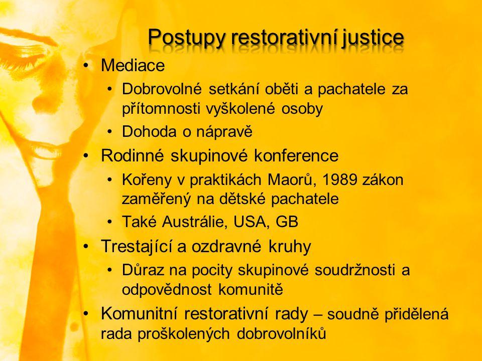 Postupy restorativní justice